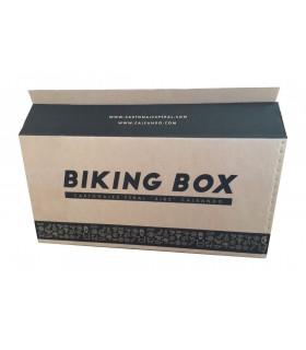 Caja bicicleta Biking Box frontal