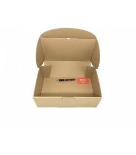 Caja de cartón troquelada de color marrón, Ecommerce 35.5x22x13