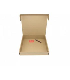 Caja de cartón troquelada de color marrón, Ecommerce 39x34x8.5