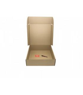 Caja de cartón troquelada de color marrón, Ecommerce 45.7x45.5x14.5