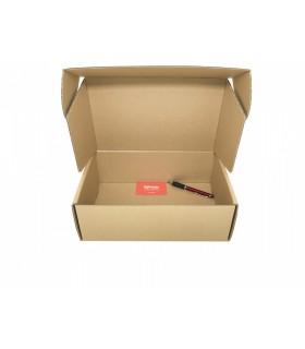Caja de cartón troquelada de color marrón, Ecommerce 31.4x20.5x11
