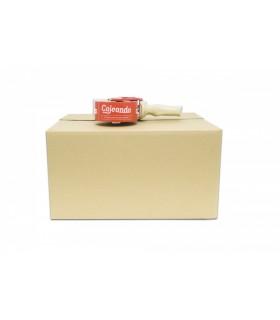 Caja de cartón cerrada canal doble de 41,50 x 35,00 x 21,50 cm