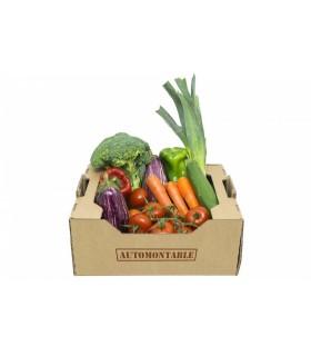Caja de cartón para agricultura pequeña