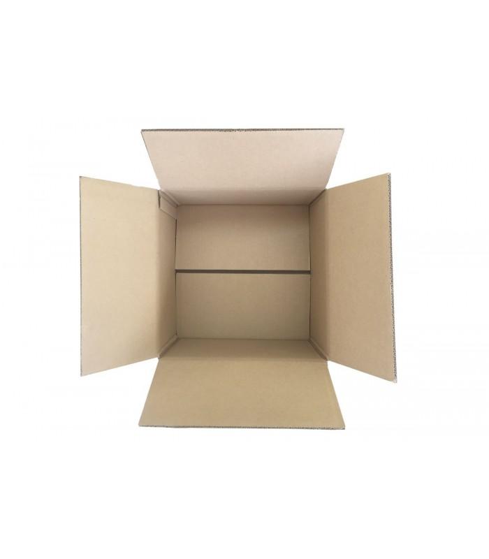Caja de cartón súper resistente de medida 32x32x18, abierta