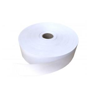 Papel engomado o precinto eco en color blanco