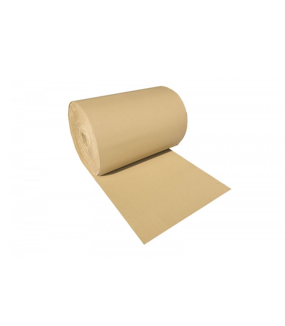 Rollo de cartón ondulado