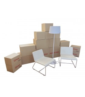Pack básico de mudanza del hogar (16 cajas)