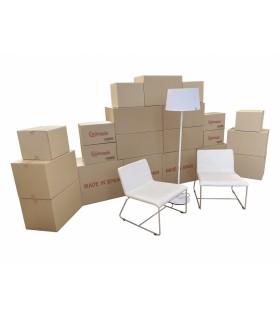 Pack de Mudanza para Hogar| Mediano (21 cajas)
