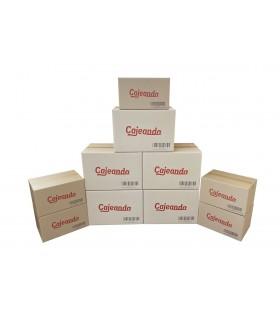 Pack de 10 cajas para mudanza de oficina