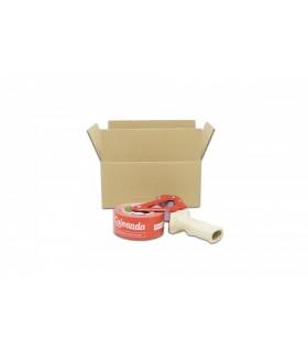Caja de cartón de canal simple calidad extra 36,5x17,5x12,5