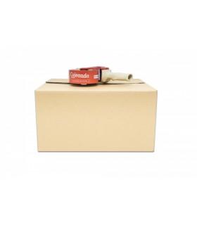 Caja de cartón canal simple y calidad extra 21,5x41,5x35 Imagen caja cerrada
