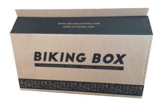 caja para bicicleta