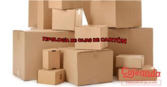 Tipologia de cajas de carton Cajeando