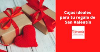 Cajas ideales San Valentín en Cajeando