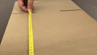 cómo medir una caja
