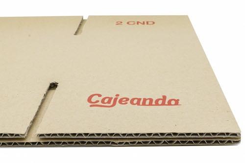 Cartón de canal simple para cajas