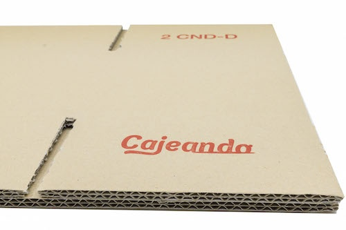 Cajas de cartón resistentes de canal doble